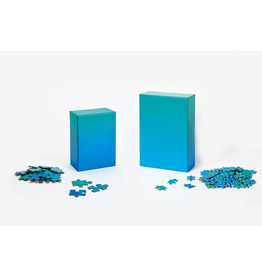 Areaware Gradient Puzzle Blue/Green 500 - Piece Jigsaw Puzzle