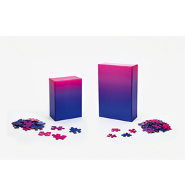 Areaware Gradient Puzzle Blue/Pink 500 - Piece Jigsaw Puzzle