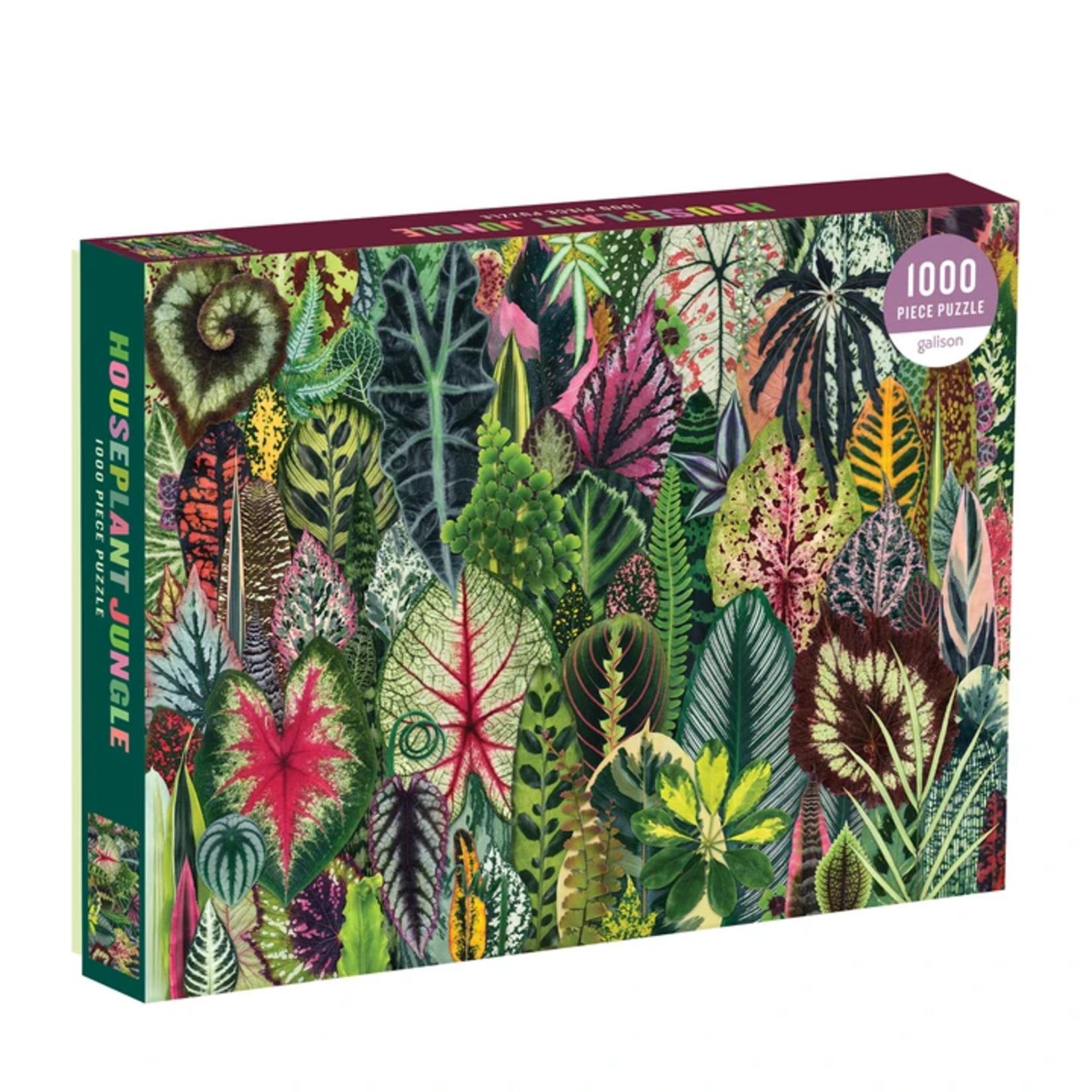 Galison Houseplant Jungle - 1000 Piece Jigsaw Puzzle