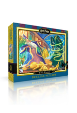 New York Puzzle Company Harry Potter: Dueling Wizards 750 Piece