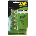 Zap A Gap Glue Zap-A-Gap Single Use CA+ 5x0.01oz