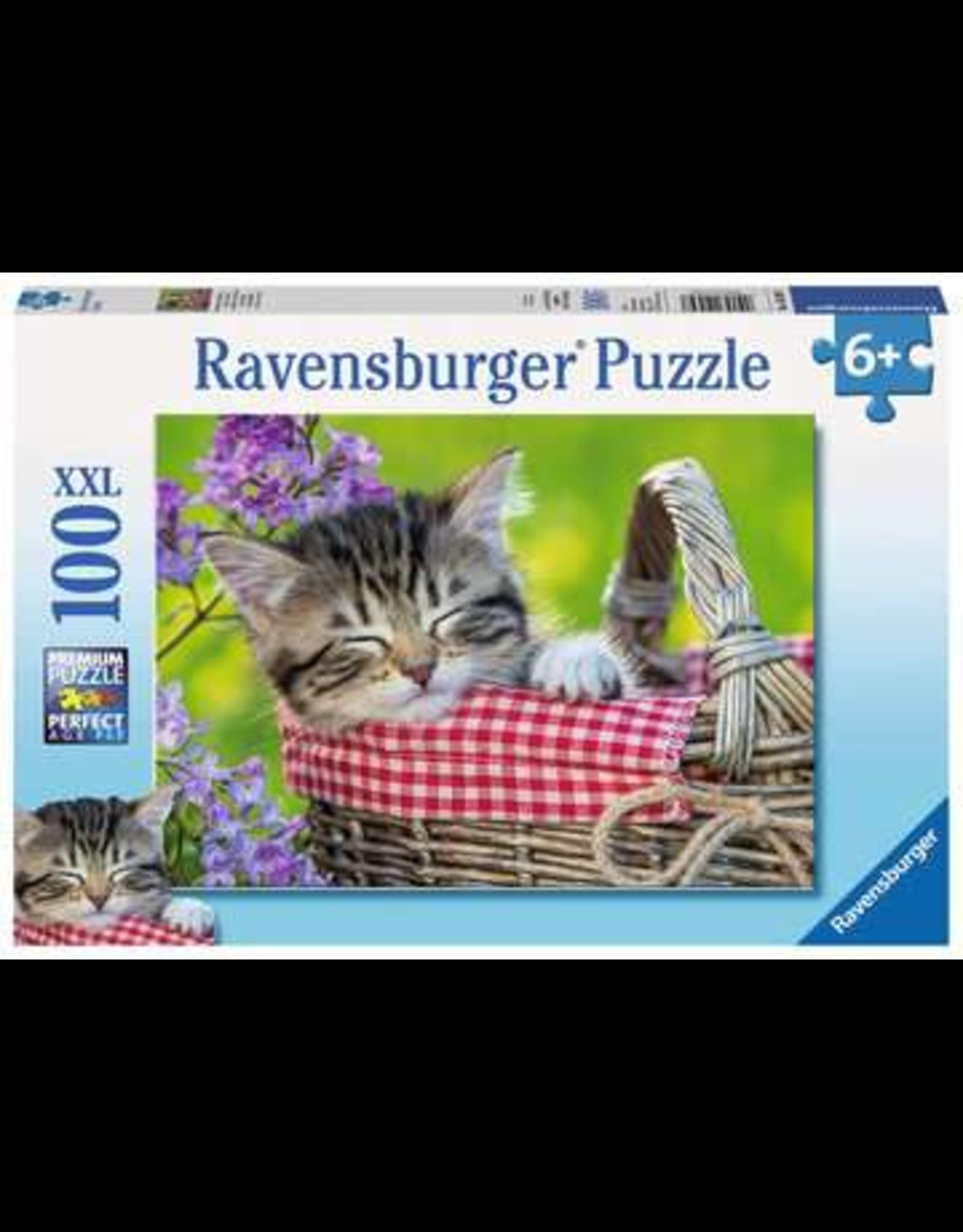 Ravensburger Sleeping Kitten 100 Piece