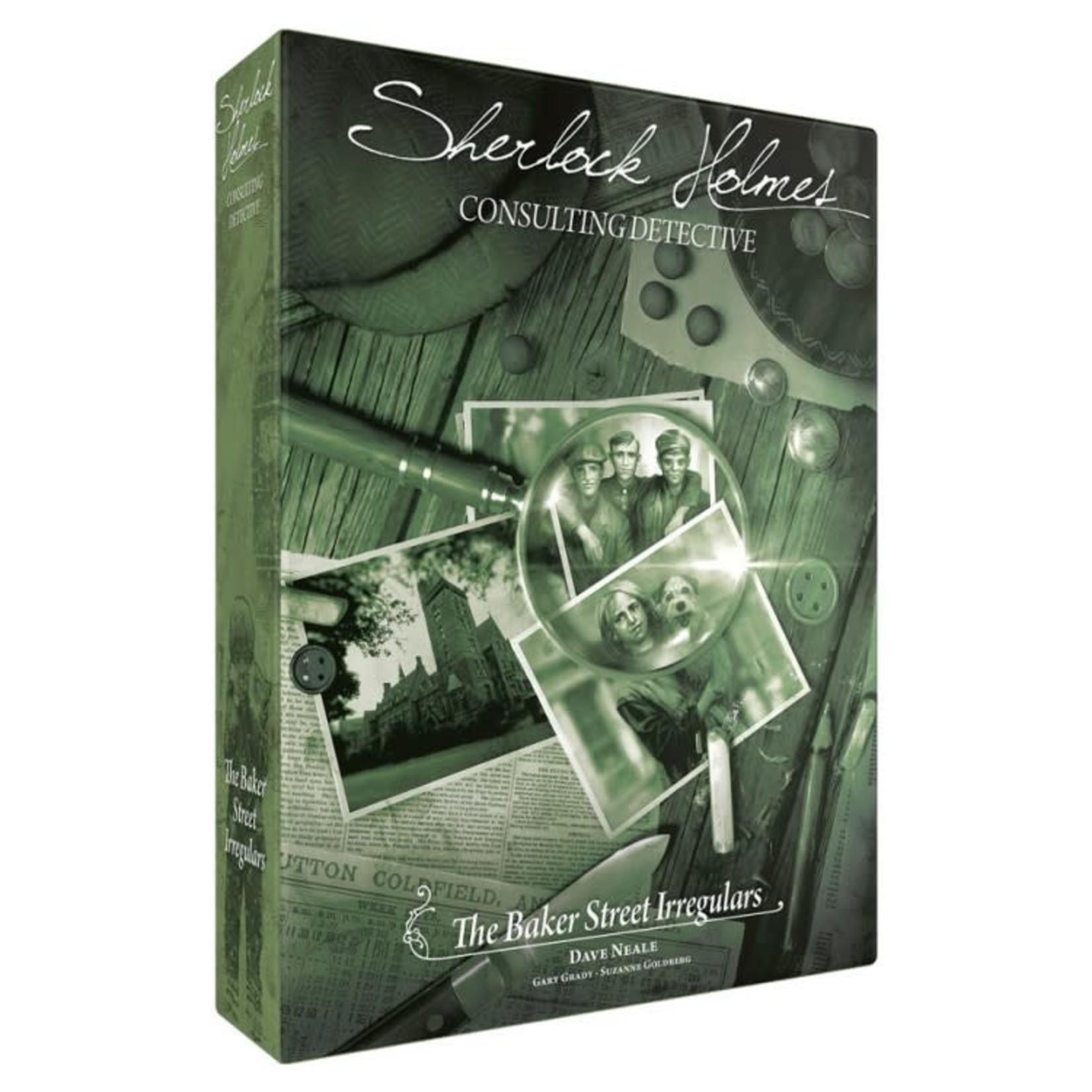 Asmodee Sherlock Holmes Consulting Detective: Baker Street Irregulars
