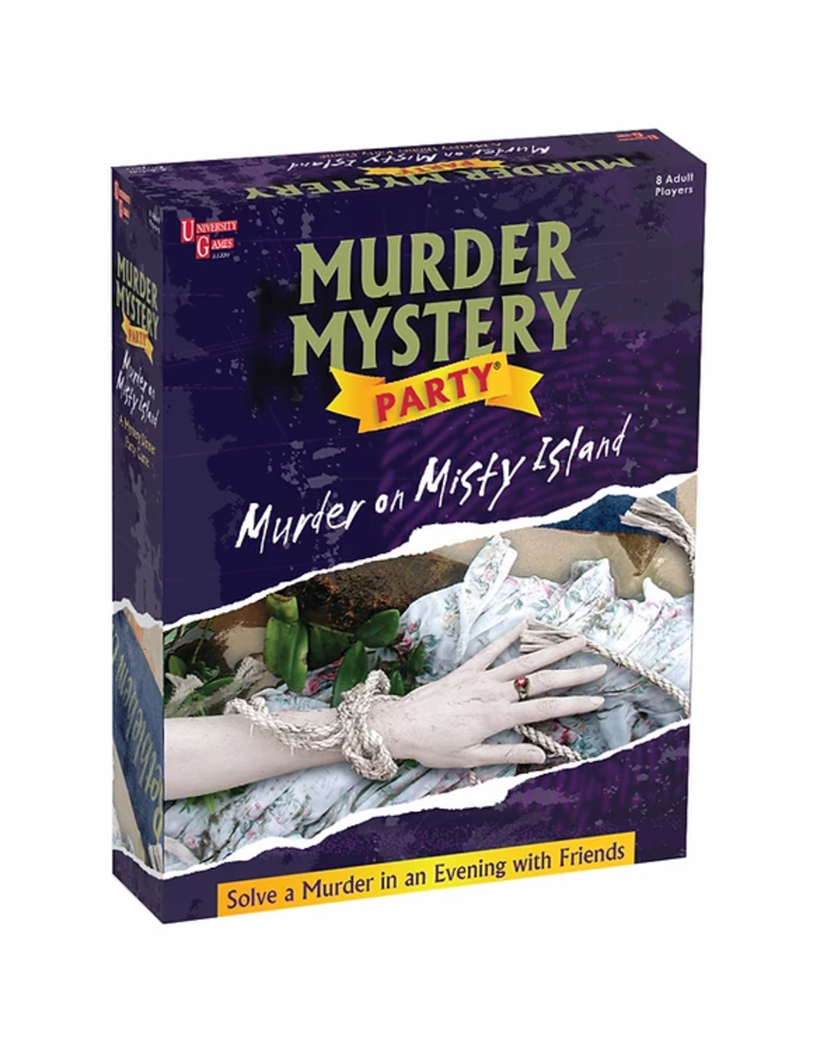 University Games Murder Mystery Party: Murder on Misty Island