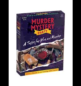University Games A Taste for Wine & Murder