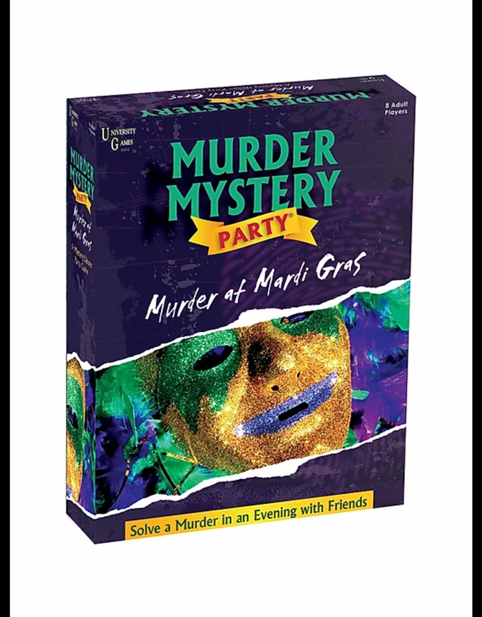 University Games Murder at Mardi Gras