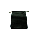 Chessex Dice Bag: Suede Black (S)
