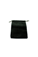 Chessex Dice Bag: Suede Black (Small)