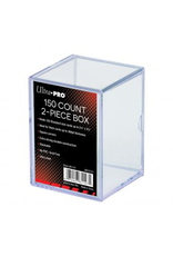 Ultra Pro 2-Piece Deck Box  150 Count Clear
