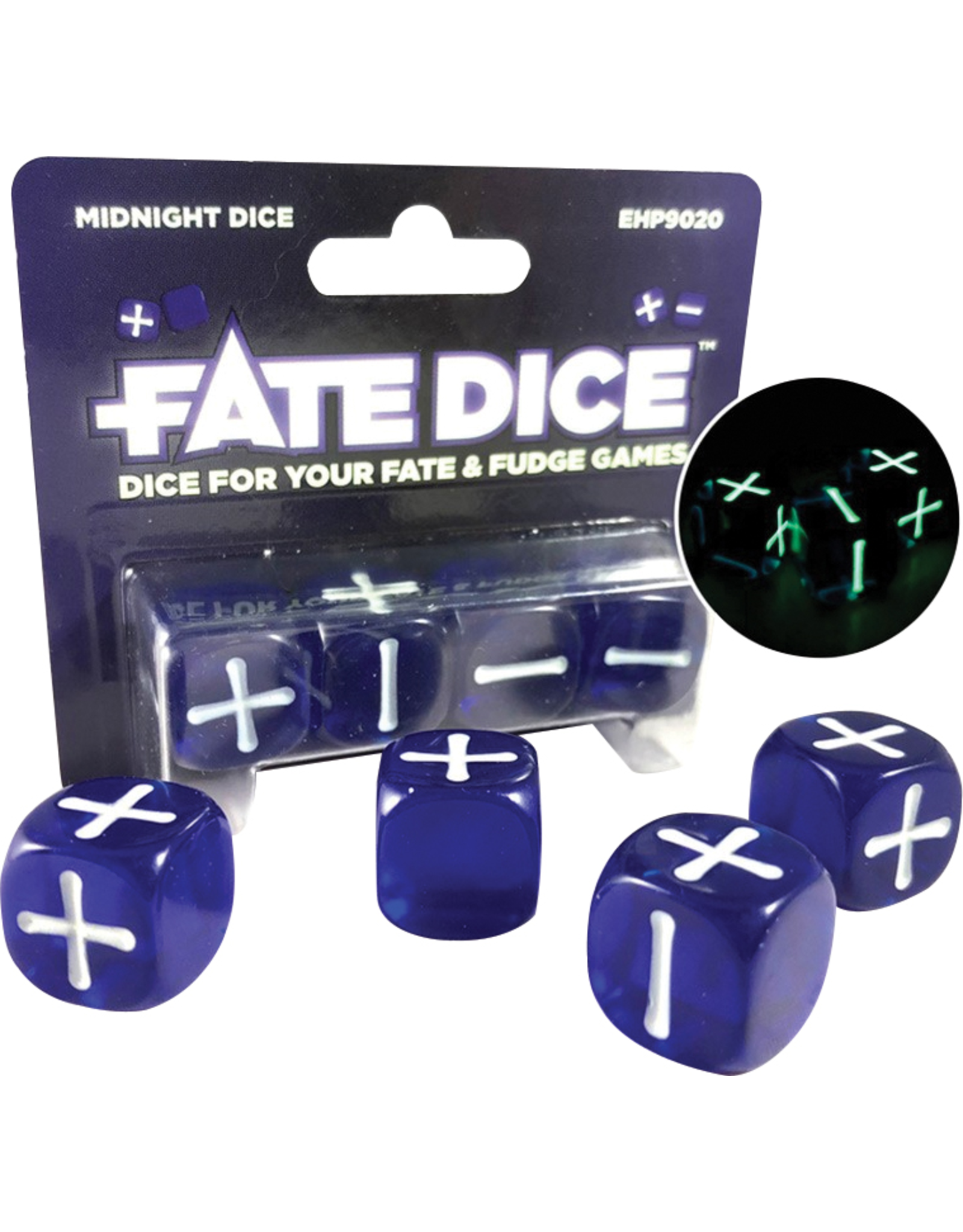 Evil Hat Productions Fate Dice: Midnight