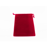 Chessex Dice Bag: Suede Red (S)