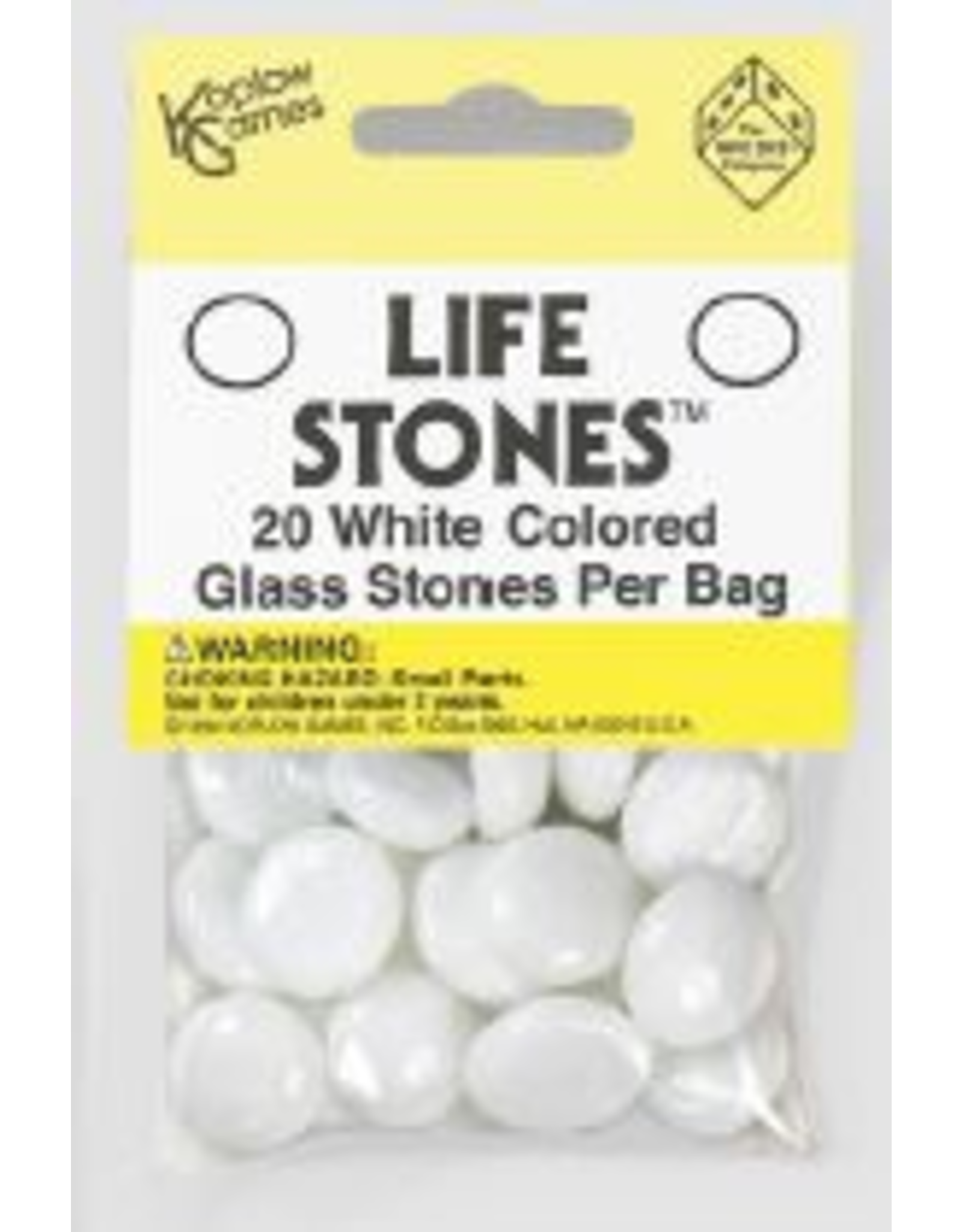 Koplow Life Stones: Glass White