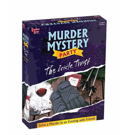 University Games The Icicle Twist Murder Mystery