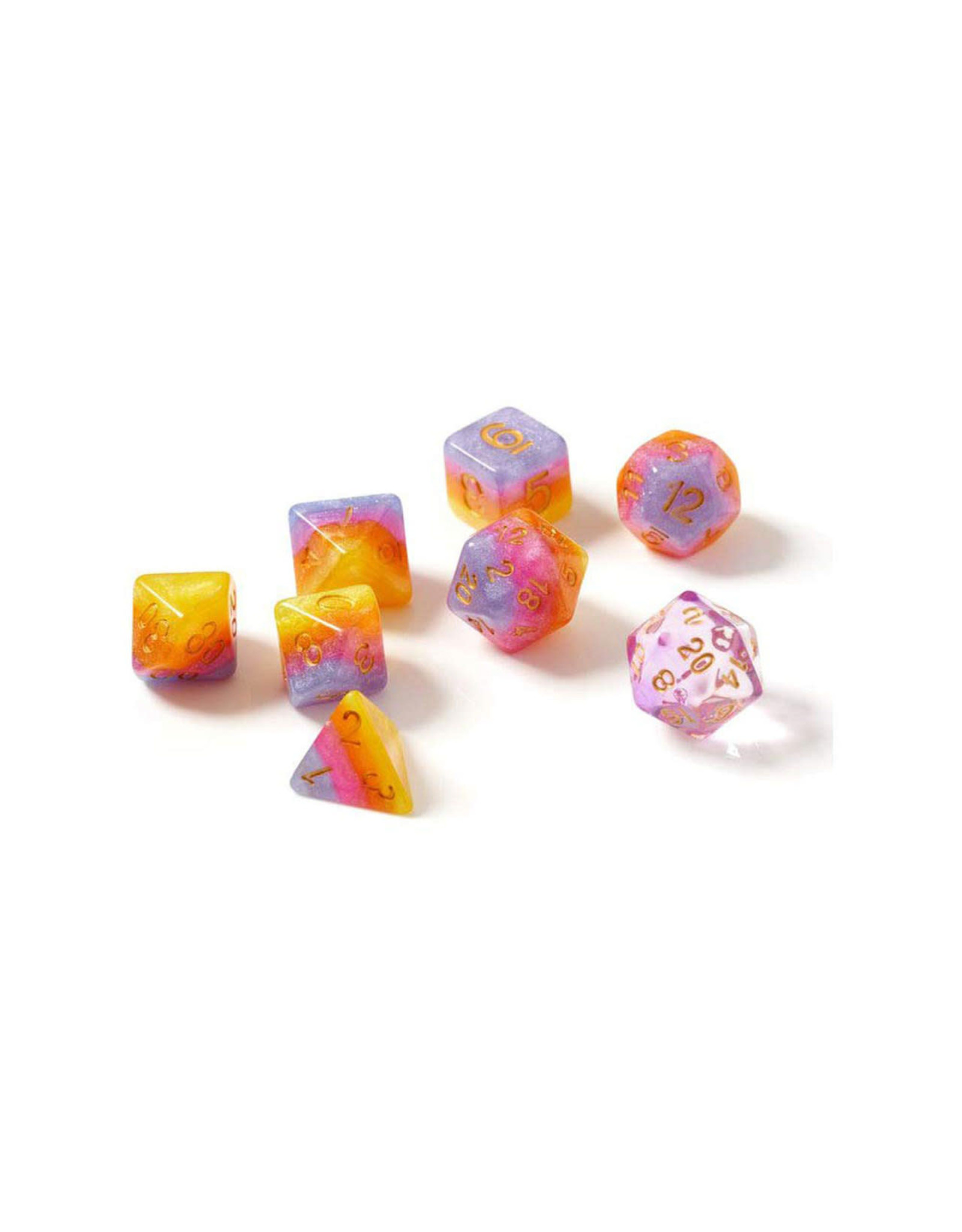 Sirius Dice 7-Set Tahitian Sunset GD