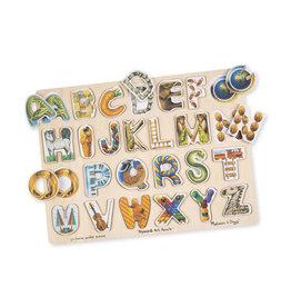 Melissa and Doug Alphabet Art