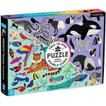 Hachette Animal Kingdom Double-Sided 100 - Piece jigsaw puzzle