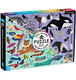 Hachette Animal Kingdom Double-Sided 100 - Piece jigsaw puzzle