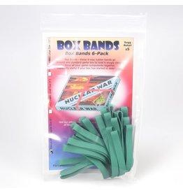 "Flying Buffalo Box Bands 8"" Green"