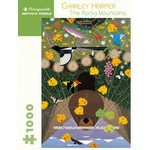 Pomegranate Charley Harper - The Rocky Mountains - 1000 Piece Jigsaw Puzzle
