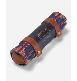 Chess & Checkers Set Pendleton Roll-Up