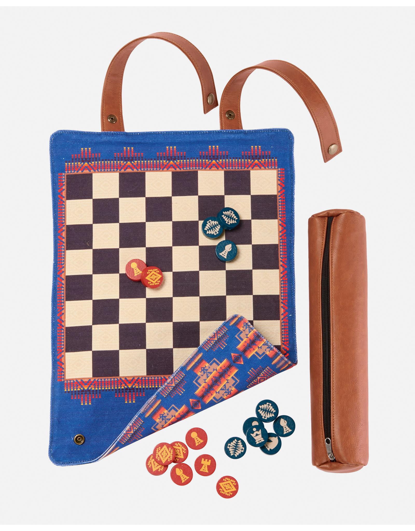Pendleton Chess & Checkers Set Pendleton Roll-Up