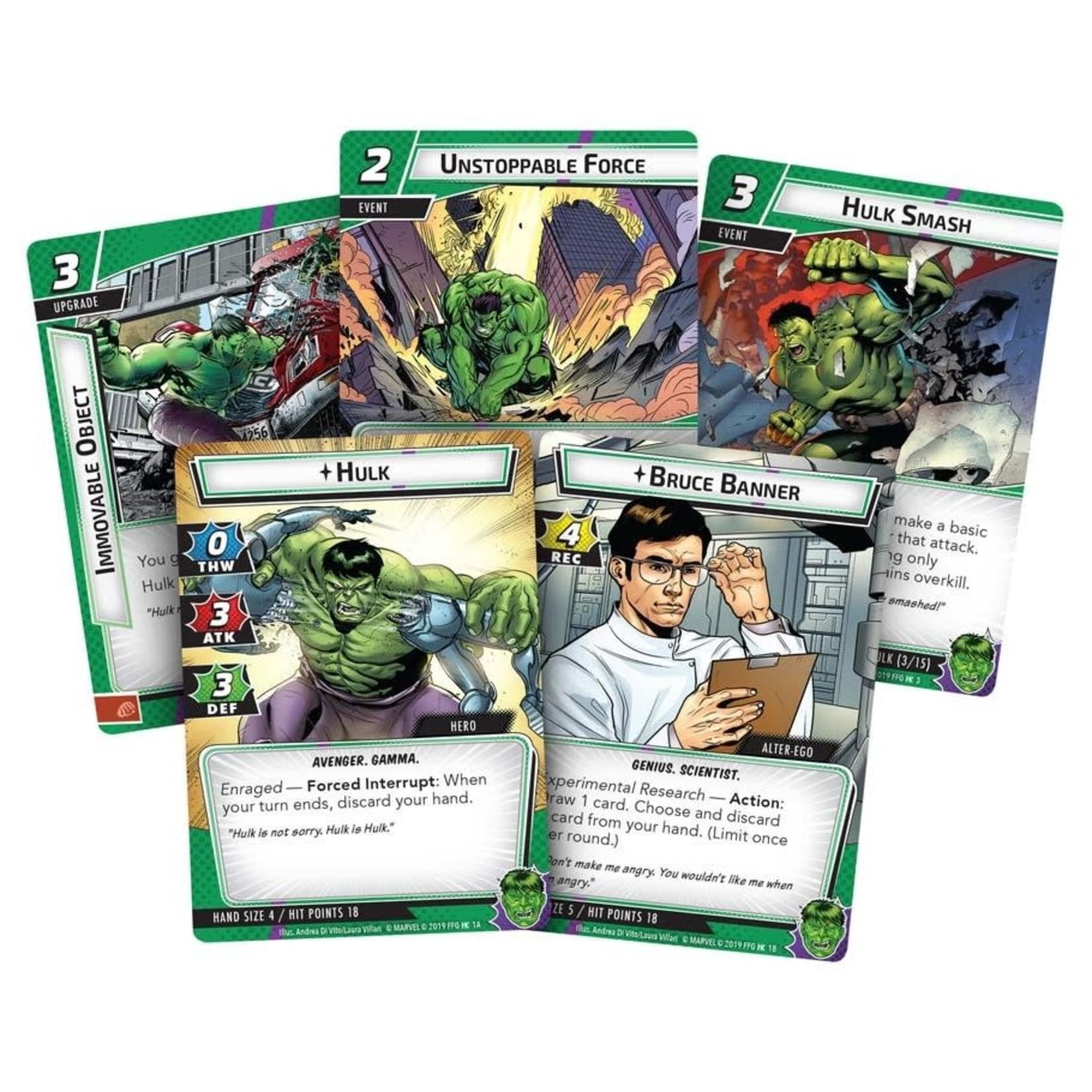 Fantasy Flight Games Marvel Champions LCG Hero - Hulk