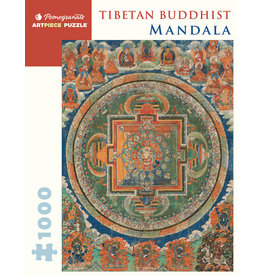 Pomegranate Tibetan Buddhist Mandala 1000p