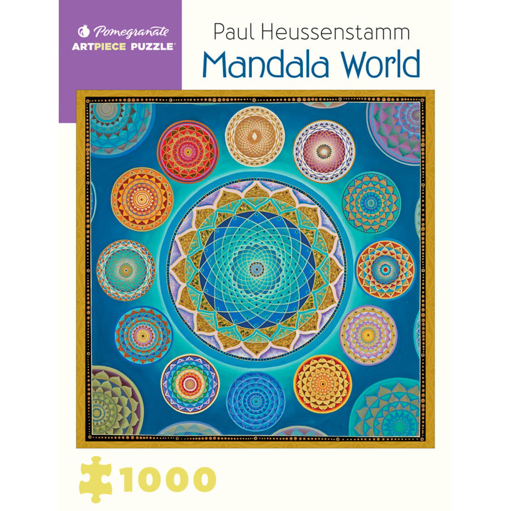 Pomegranate Mandala World - 1000 Piece Jigsaw Puzzle
