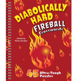 Sterling Publishing Diabolically Hard Fireball Crosswords