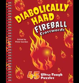 Sterling Publishing Diabolically Hard Fireball Crosswords
