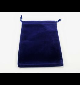 Chessex Dice Bag: Suede Royal Blue (L)