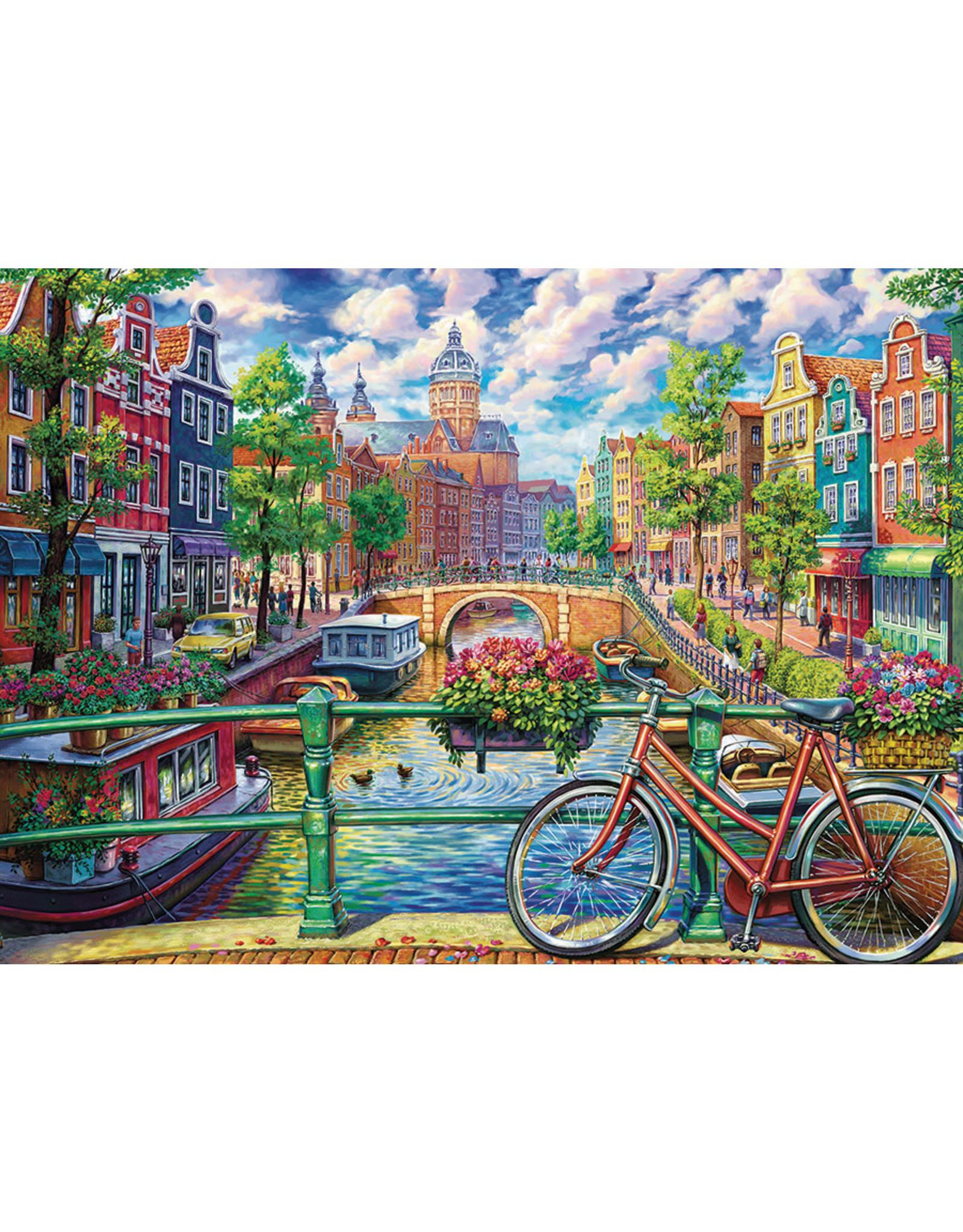Amsterdam Canal 1000p