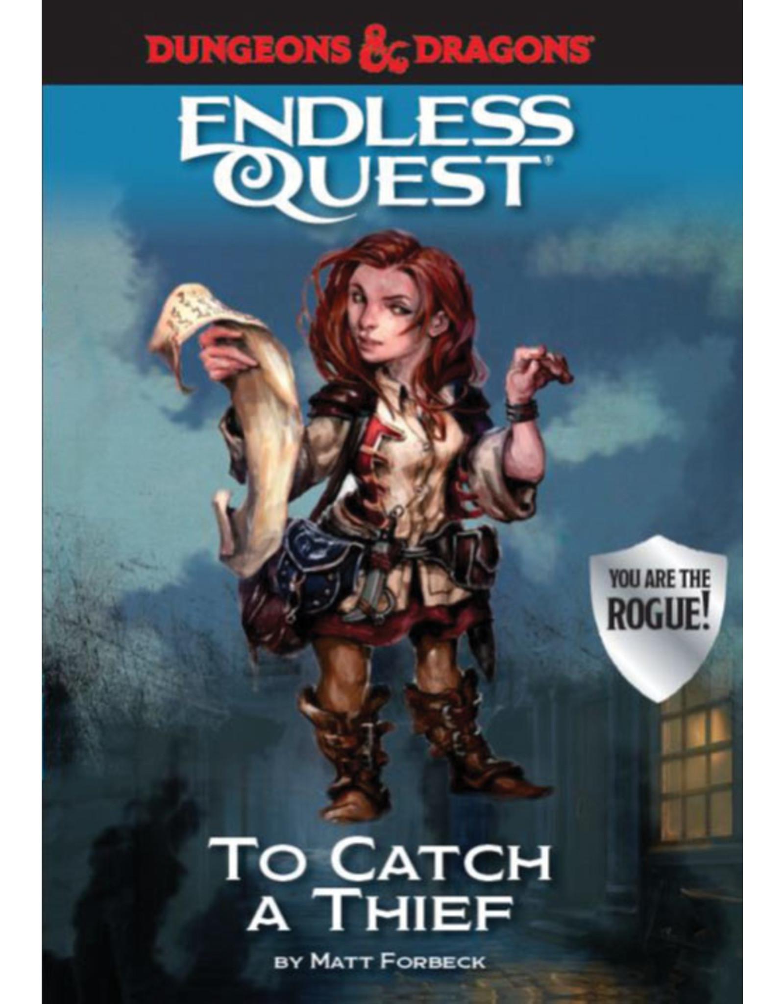Penguin Random House D&D Endless Quest To Catch a Thief