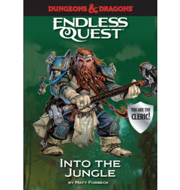 Penguin Random House D&D Endless Quest Into the Jungle (Softcover)