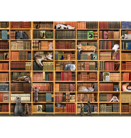 Outset Games The Cat Library 1000p