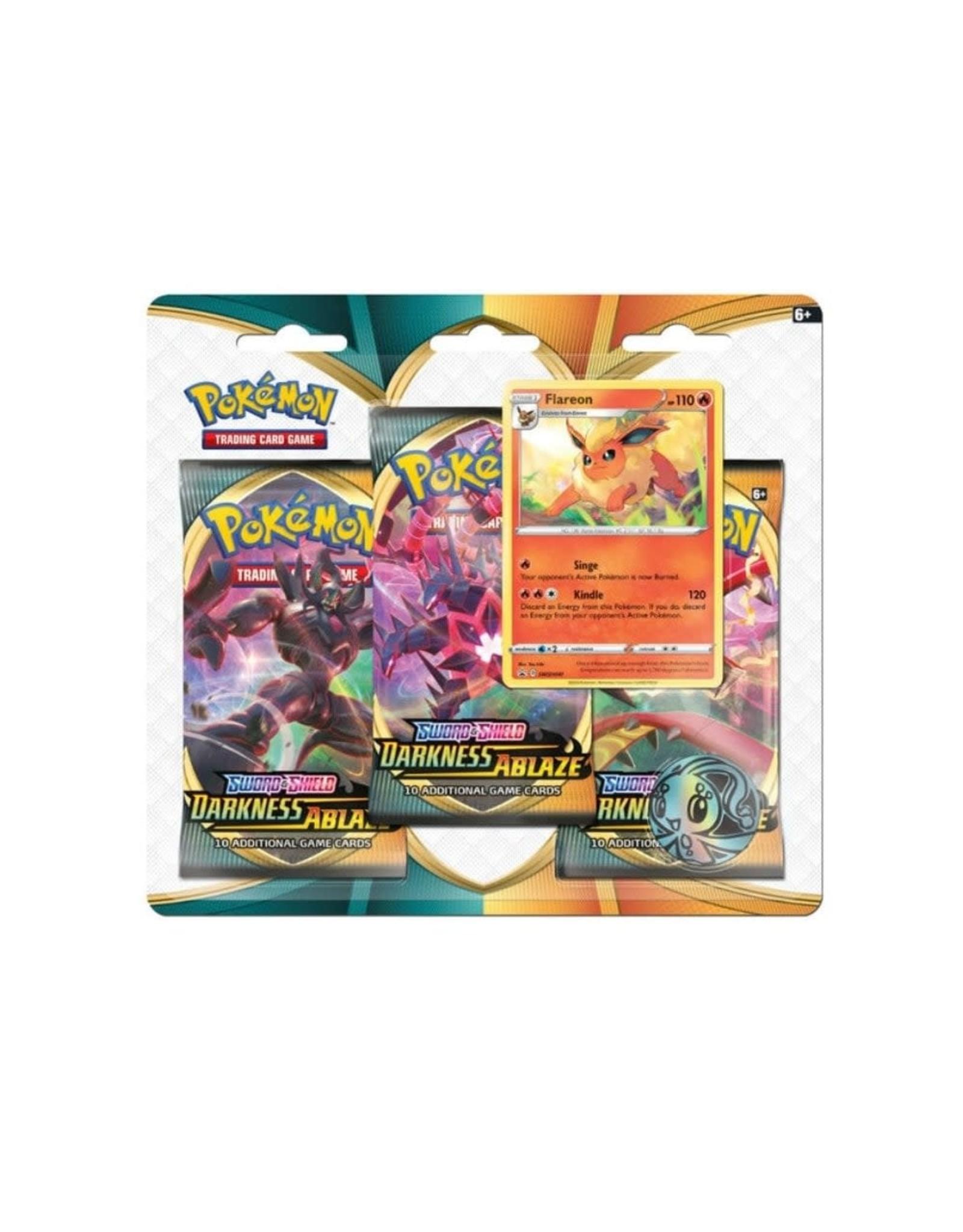 Pokémon Pokémon Darkness Ablaze 3-Booster Blister Pack