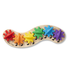 Melissa and Doug Caterpillar Rainbow Gear Toy