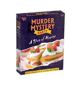 University Games Murder Mystery: Slice of Murder