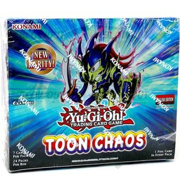 Konami YGO Toon Chaos Unlimited Booster Box