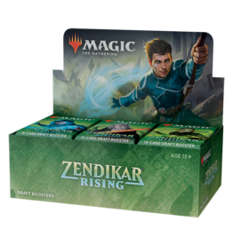 Magic: The Gathering MTG Zendikar Rising Draft Booster Box