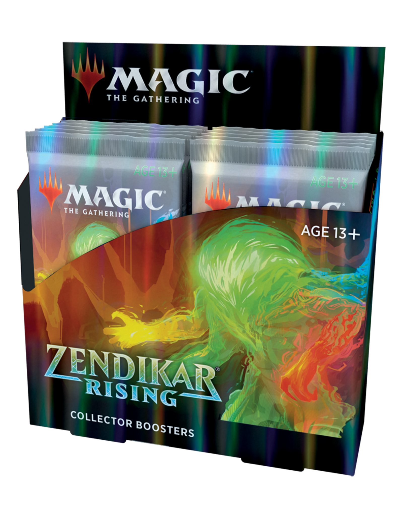 Magic: The Gathering Magic: The Gathering - Zendikar Rising Collector Booster Box