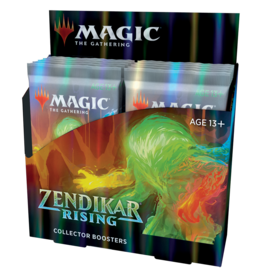 Magic: The Gathering MTG Zendikar Rising Collector Booster Box