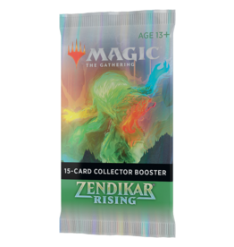 Magic: The Gathering MTG ZNR Collector Booster Pack