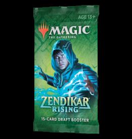 Magic: The Gathering MTG Zendikar Rising Draft Booster Pack