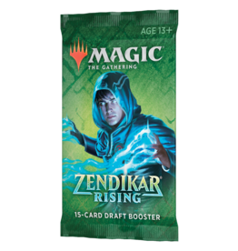 Magic: The Gathering MTG ZNR Draft Booster Pack