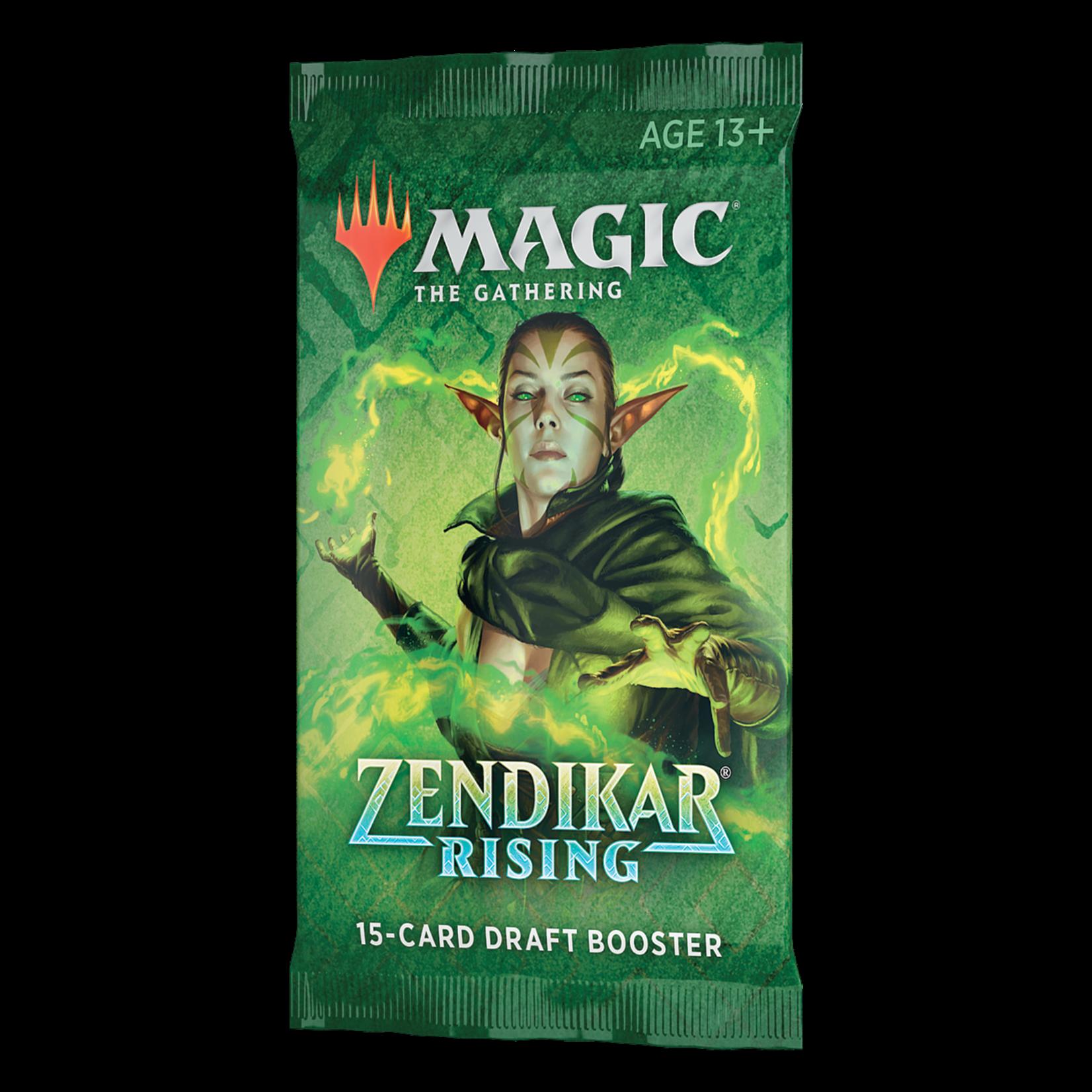 Magic: The Gathering Magic: The Gathering - Zendikar Rising Draft Booster Pack