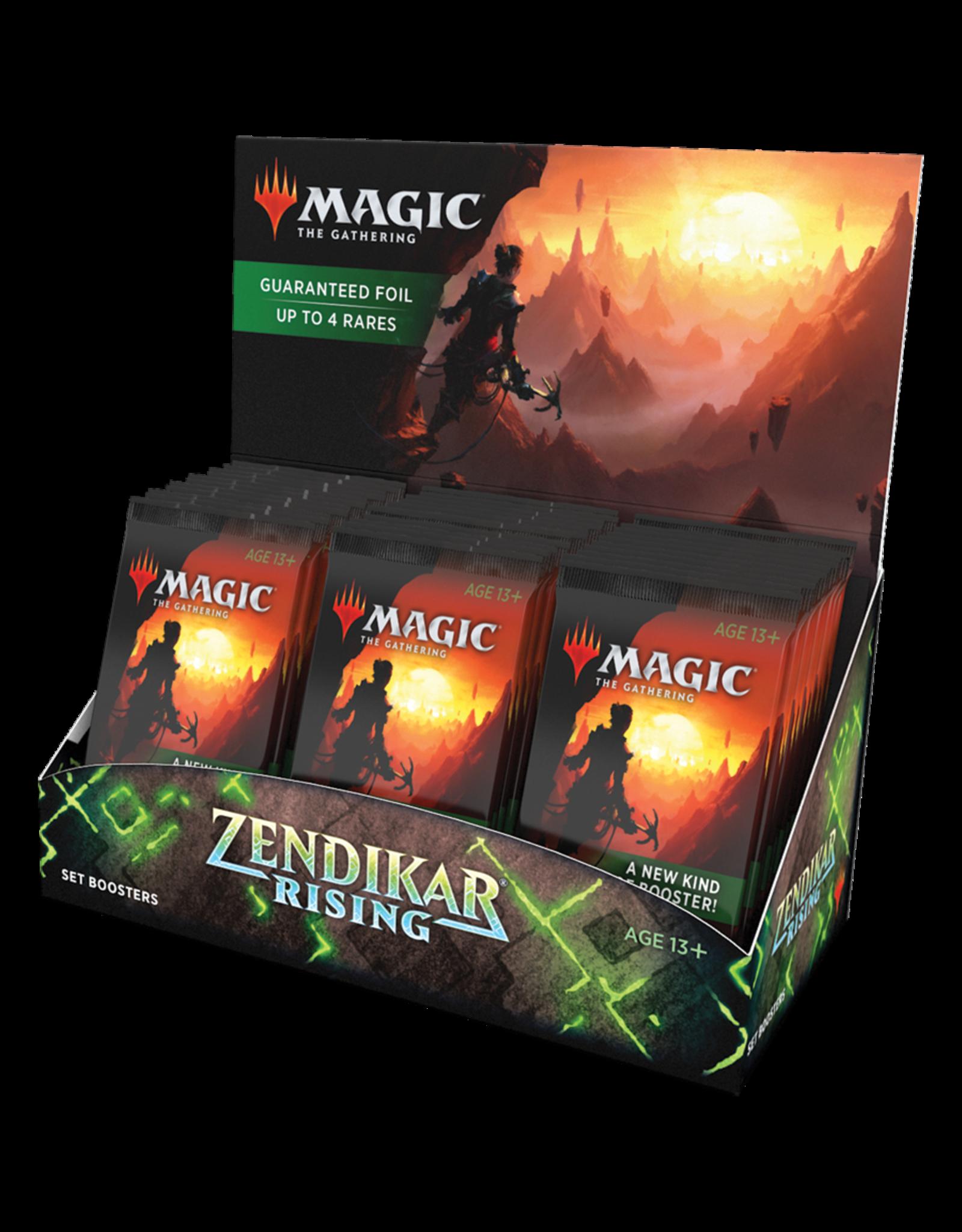 Magic: The Gathering Magic: The Gathering - Zendikar Rising Set Booster Box