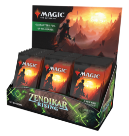 Magic: The Gathering Zendikar Rising Set Booster Box
