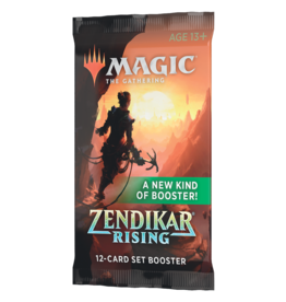Magic: The Gathering MTG ZNR Set Booster Pack