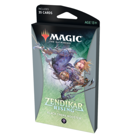 Magic: The Gathering MTG ZNR Theme Booster Pack: Black